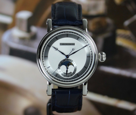 Sirius Moonphase Steel - Ch-8523