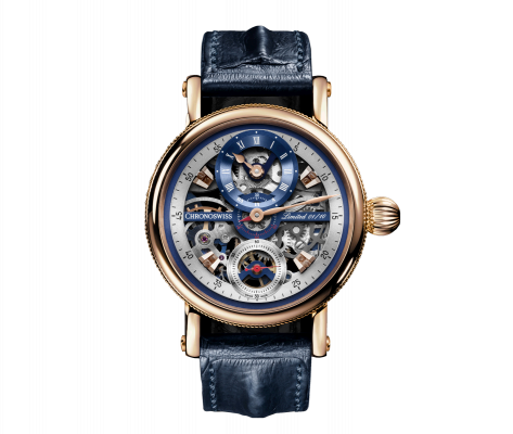 Flying Grand Regulator Skeleton - CH-6721RS-BLSIB