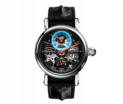 Flying Grand Regulator Skeleton - CH-6723S-BKLB
