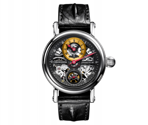 Flying Grand Regulator Skeleton - CH-6723S-BKYE