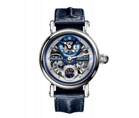 Flying Grand Regulator Skeleton - CH-6723S-BLSIB